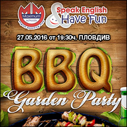 English Speaking Club BBQ Party in Plovdiv
